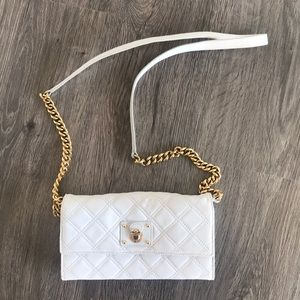 Marc Jacobs Quilted Crossbody Wallet on a Chain